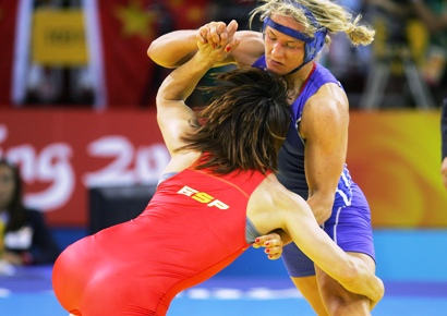 Save Olympic Wrestling Cover Photo Polish sport wrestlers