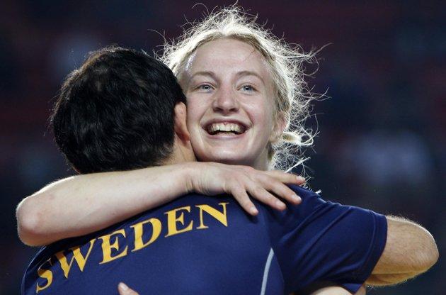 Scandinavian female wrestler 13